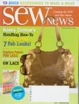 Sew News March 2009