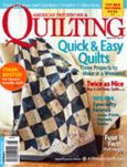 American Patchwork and Quiltng August 2009