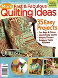 BHG More Fast and Fabulous Quilting Ideas 2009