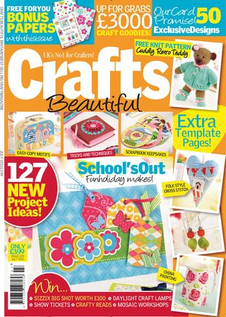 Crafts Beautiful cover, July 2011200