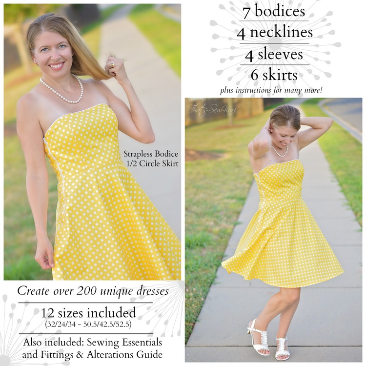 Grand Revival Designs: Kari Makes a Dress from Sew Many Dresses, Sew ...