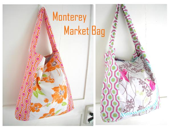 Free Patterns For Bags : Free Pattern! : Monterey Market Bag