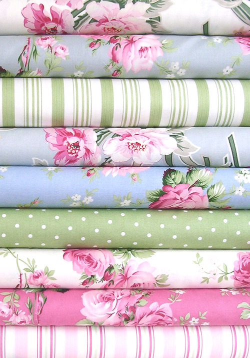 Barefoot Roses Collection for Free Spirit Fabrics